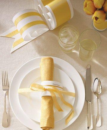 salfetki-dlya-svadby Салфетки в сервировке стола, необычный декор или простой предмет необходимости