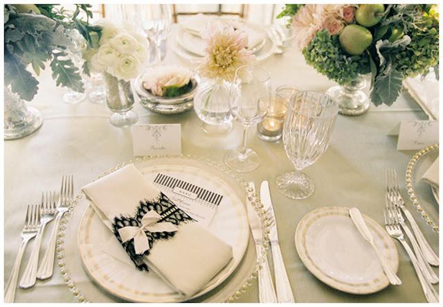 ТОП-10 колец для салфеток для сервировки свадебного стола