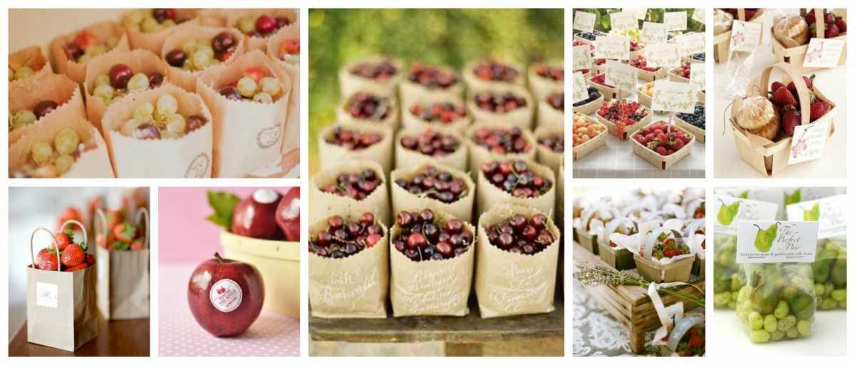 Как подарить гостям подарки на свадьбе