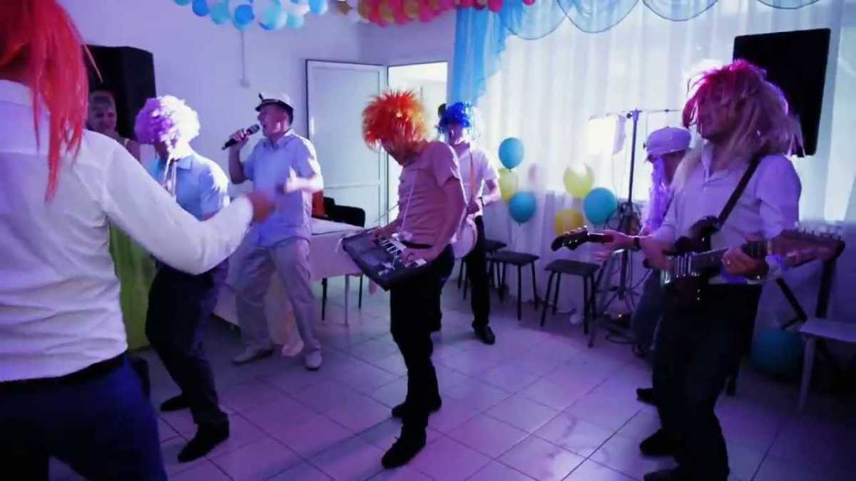 Рок группа на свадьбу