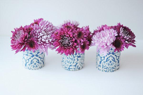 ТОП-10 бюджетных вариантов декора ваз на свадьбу