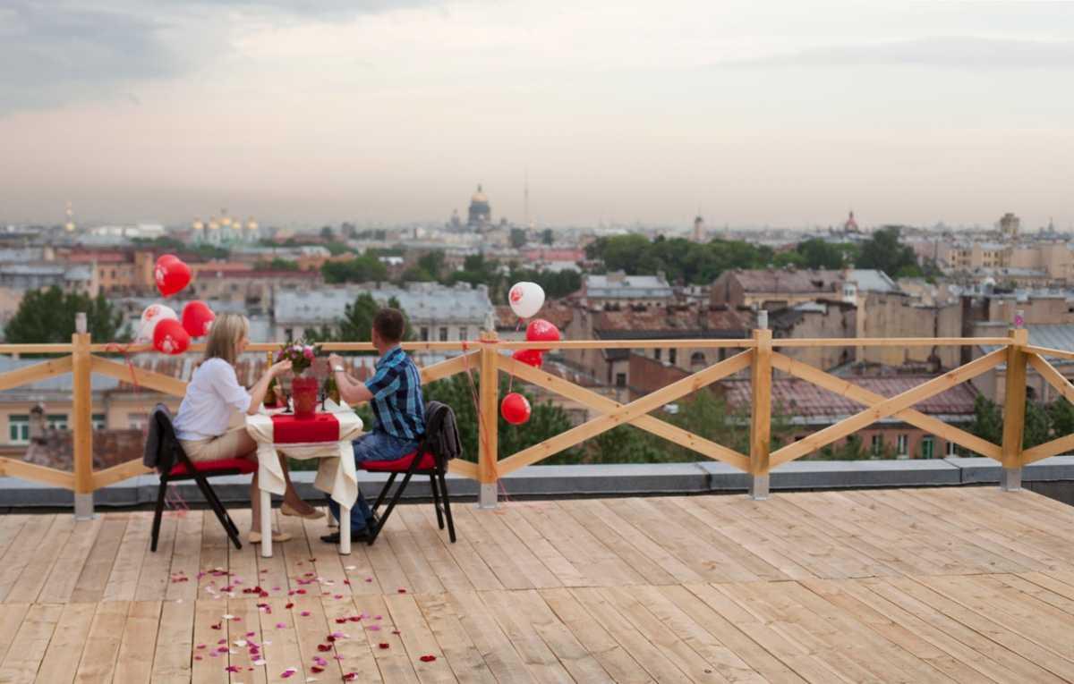 romanticheskoe-svidanie-na-kryshe Как организовать свидание на крыше?