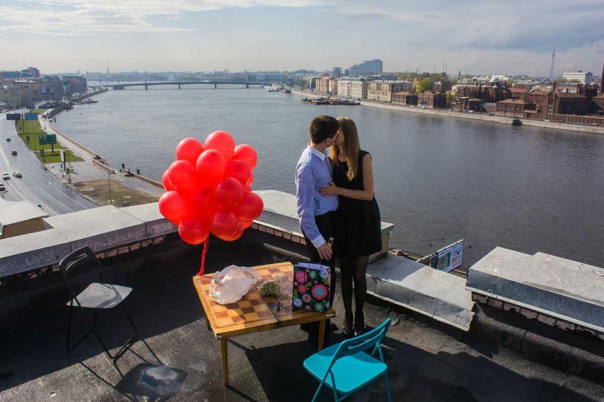 romantik-na-kryshe Как организовать свидание на крыше?