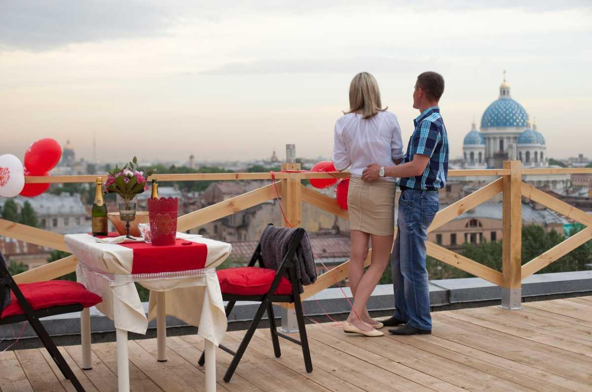 svidanie-na-kryshe-doma Как организовать свидание на крыше?