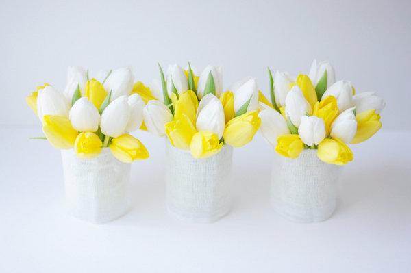 vazy-na-svadbu-iz-gofrobumagi ТОП-10 бюджетных вариантов декора ваз на свадьбу