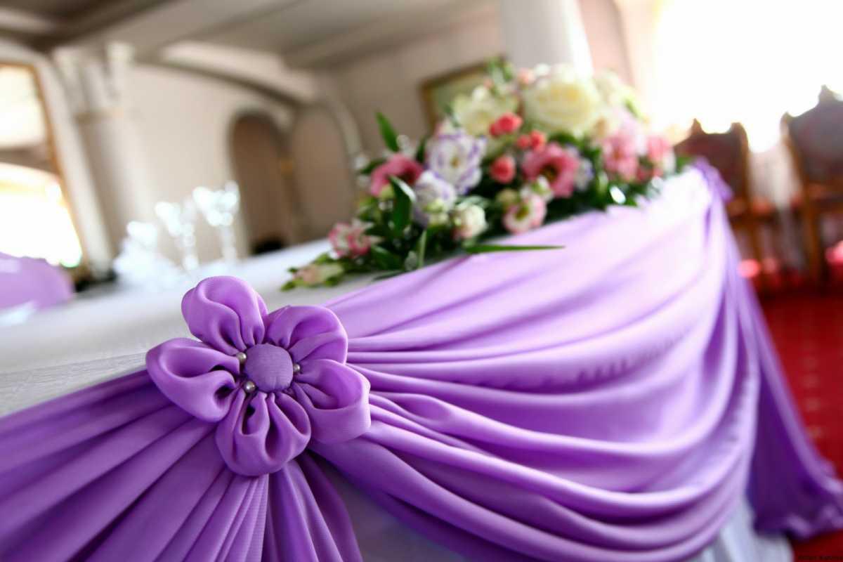 Свадебное оформление тенденции лето-осень 2016