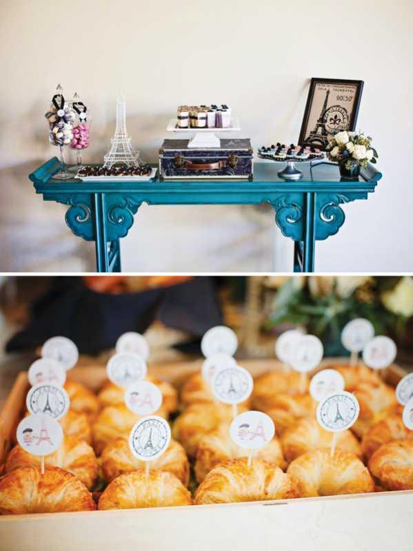 Свадебный Кэнди Бар в французском стиле