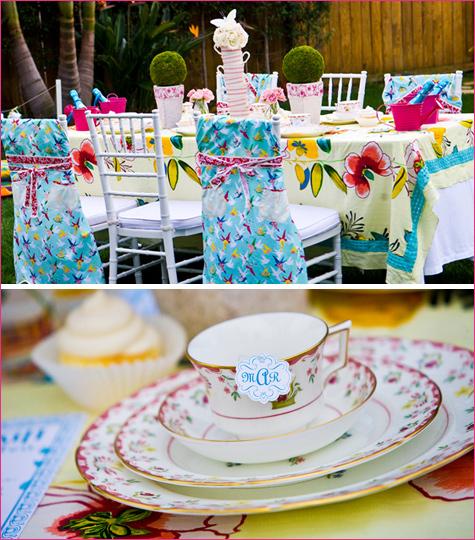Сервировка стола в стиле Алиса в Зазеркалье, как удивить гостей простыми стилистическими решениями