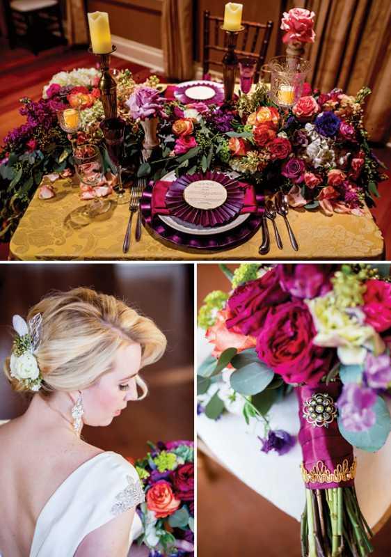 1-vintazhno-gamurnaya-svadba Винтаж и гламур в свадебном торжестве, как правильно сочетать между собой эти два стиля
