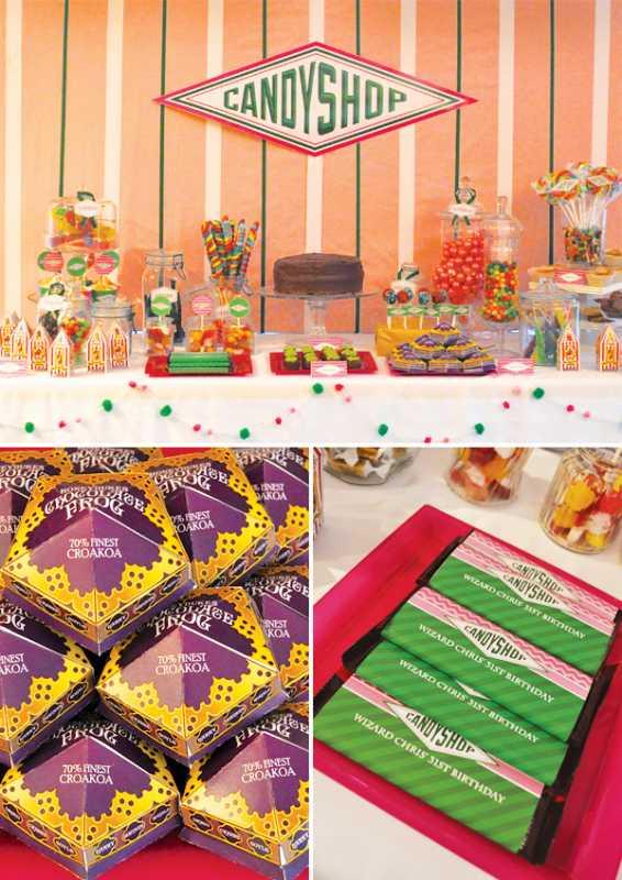 Delaem-dekor-svadby-v-stile-Garri-Pottera-7 Делаем декор свадьбы в стиле Гарри Поттера