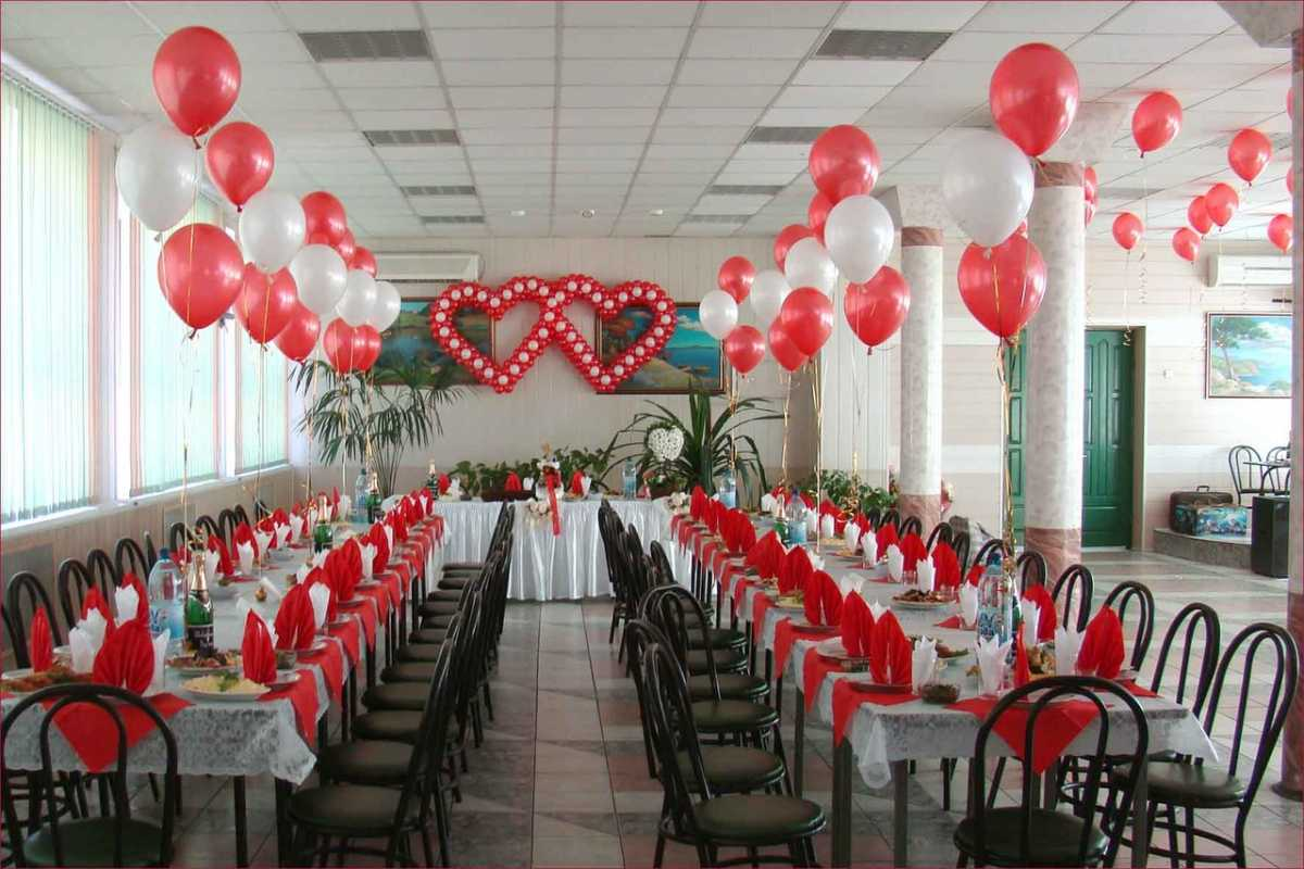 Svadebnye-zaly-oformlenie-sharami-foto-idei-2 Свадебные залы оформление шарами фото идеи