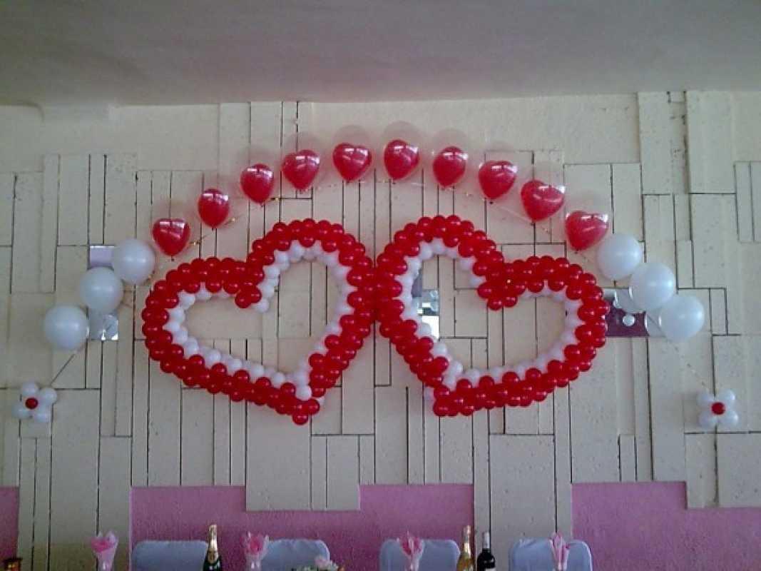 Svadebnye-zaly-oformlenie-sharami-foto-idei-3 Свадебные залы оформление шарами фото идеи