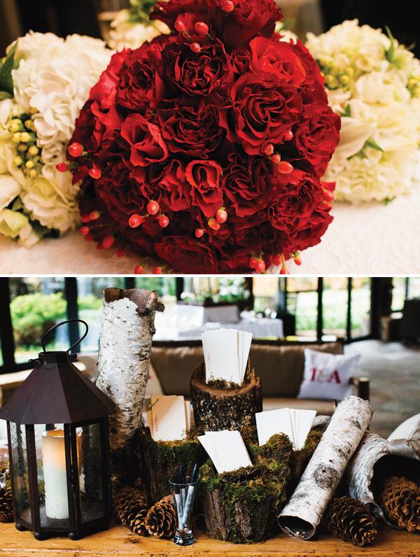 rustikovaya-svadba-10 Вариант организации свадьбы в стиле рустик в зимний период года, на чем заострить внимание