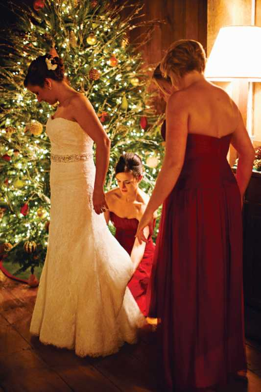 rustikovaya-svadba-5 Вариант организации свадьбы в стиле рустик в зимний период года, на чем заострить внимание