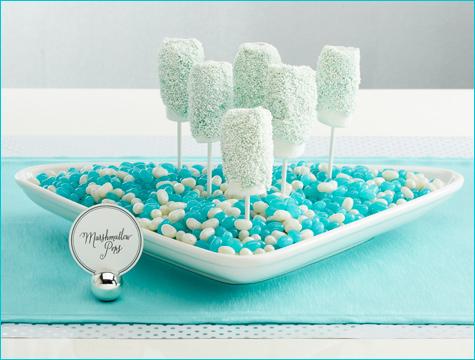 snezhnyj-kendi-bar-na-svadbu-3 Идея для зимней свадьбы: Снежный Кэнди Бар  какие сладости лучше использовать.