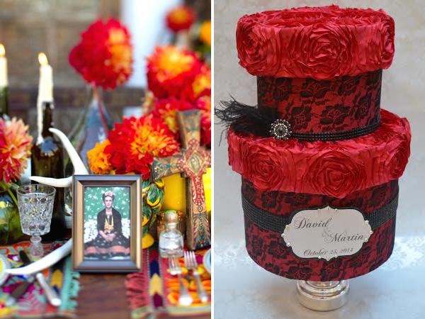 svadba-v-stile-Dnya-Mertvyh-7 Свадьба в стиле Дня Мертвых - удивительный вариант проведения торжества для смелых влюбленных