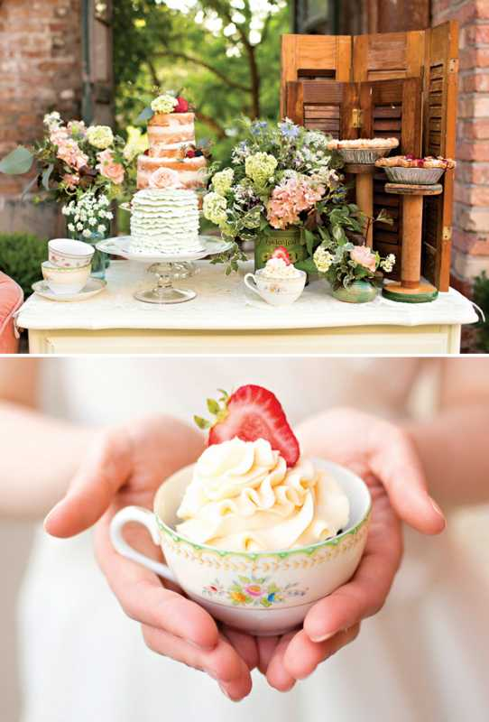 svadba-v-stile-chaya-5 Восхитительная винтажная свадьба в стиле зеленого чая, с нотками романтики и нежности