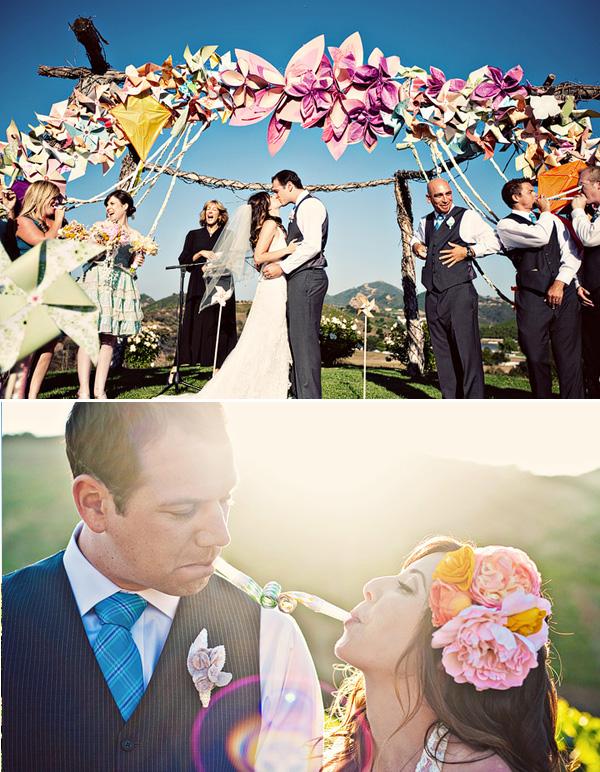 1-dekor-svadby-tsvetami-iz-bumagi Декор свадьбы бумажными цветами, кто сказал что хендмейд не может быть модным?