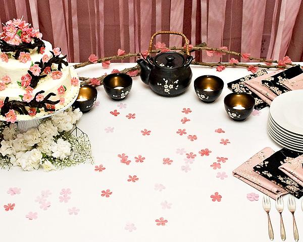1-sakura-iz-bumagi-svoimi-rukami Цветы сакуры своими руками для декора тематической свадьбы или девичника