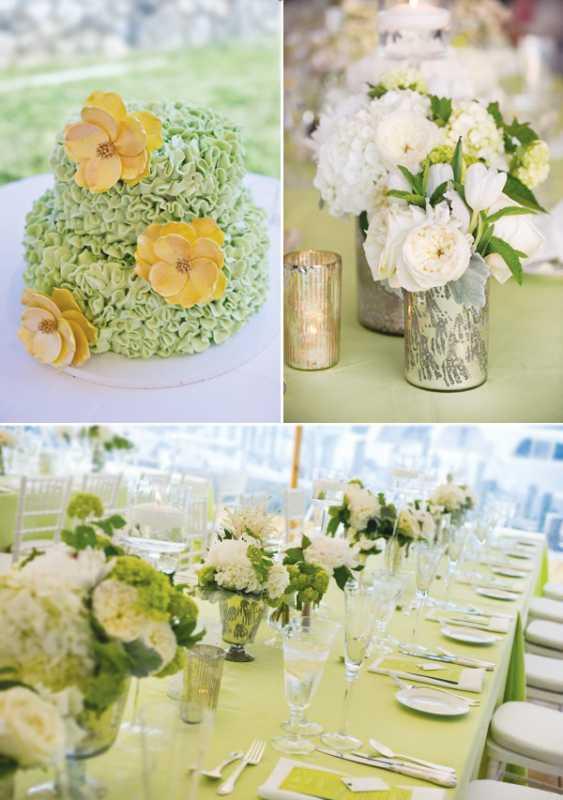 Свежая свадьба в фисташковом цвете, как правильно подобрать декор