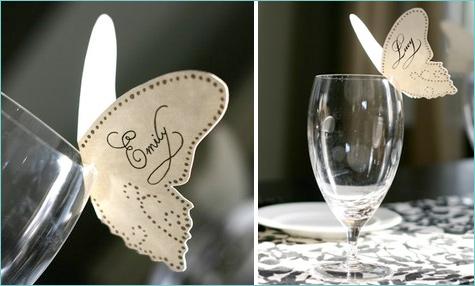 bumazhnye-kartochki-rassadki-gostej-3 Бумажные таблички на бокал в замен стандартных карточек для рассадки гостей на свадьбе