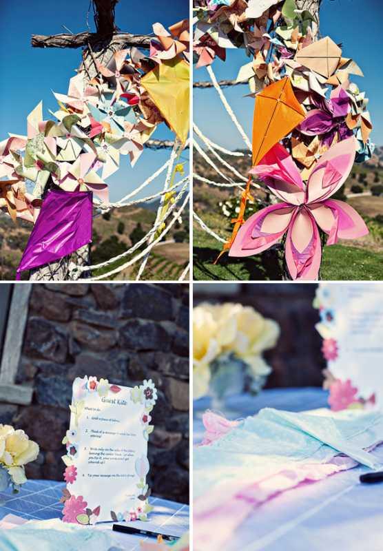 dekor-svadby-tsvetami-iz-bumagi-4 Декор свадьбы бумажными цветами, кто сказал что хендмейд не может быть модным?