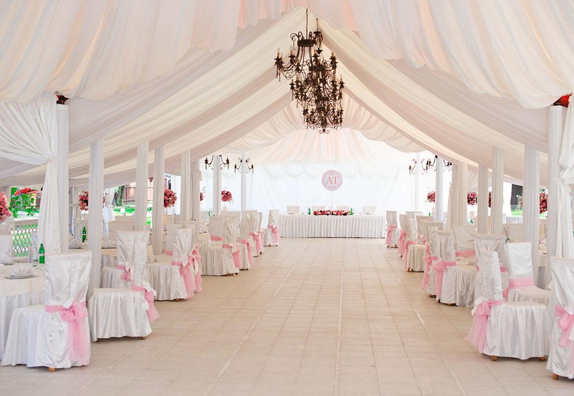 dekor-svadebnyh-shatrov-2 Оформление свадебных шатров при выездной церемонии регистрации брака