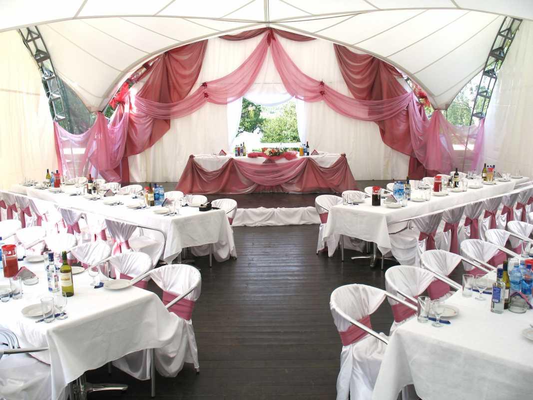 dekor-svadebnyh-shatrov-3 Оформление свадебных шатров при выездной церемонии регистрации брака