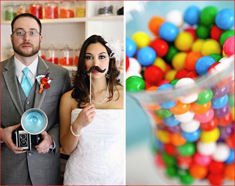 konfetnyj-yarkij-Kendi-Bar-6 Потрясающий конфетный Кэнди Бар на свадьбе, расскрываем секреты его яркого оформления