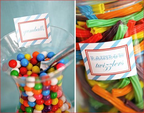konfetnyj-yarkij-Kendi-Bar-8 Потрясающий конфетный Кэнди Бар на свадьбе, расскрываем секреты его яркого оформления