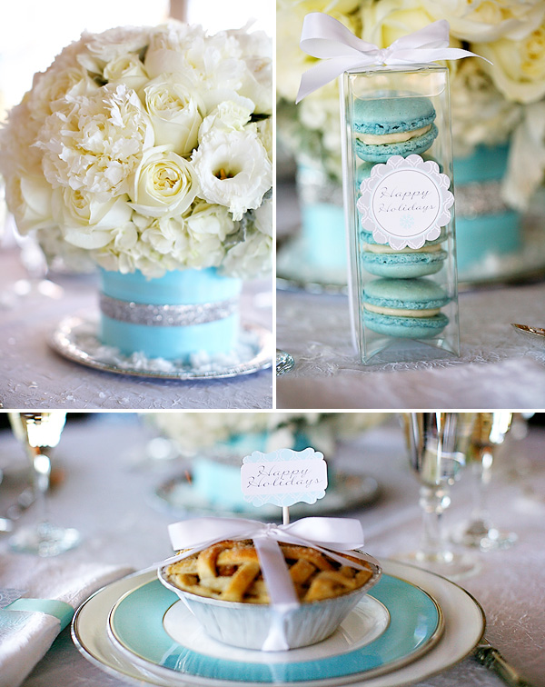 servirvoka-stola-dlya-zimnej-svadby-5 Сервировка свадебного стола в холодной голубой палитре для зимнего торжества
