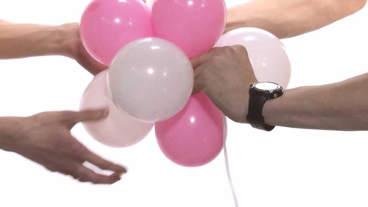 shary-na-svadbu-svoimi-rukami-2 Украшение из шаров на свадьбу своими руками, варианты использования воздушного декора