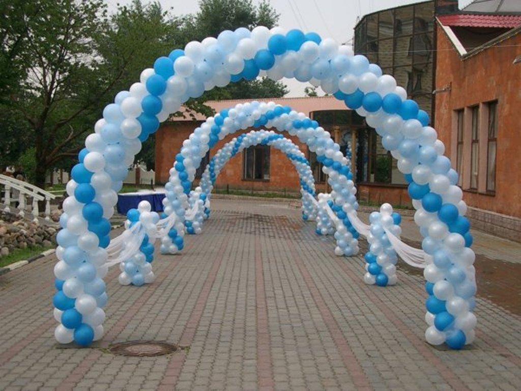 shary-na-svadbu-svoimi-rukami-5 Украшение из шаров на свадьбу своими руками, варианты использования воздушного декора