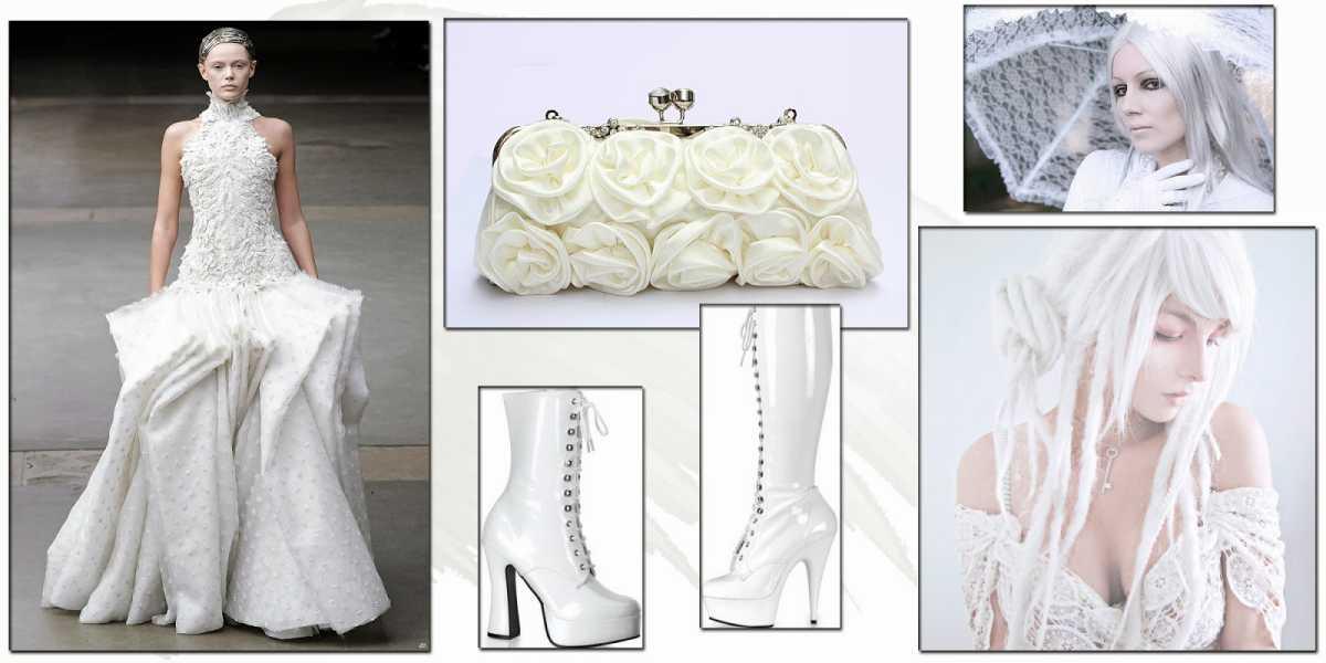 svadba-v-belom-tsvete-5 Украшение зала на свадьбу в белом цвете, как организовать, чтобы торжество не получилось скучным и блеклым
