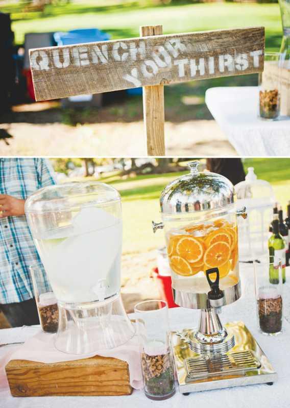 svadba-v-derevenskom-stile-8 Нежная летняя свадьба в деревенском стиле. В чем заключается суть простоты организации?