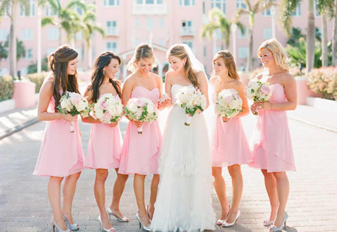 svadba-v-rozovom-tsvete-7 Розовое оформление свадебного зала, как не сделать торжество слишком девчачьем