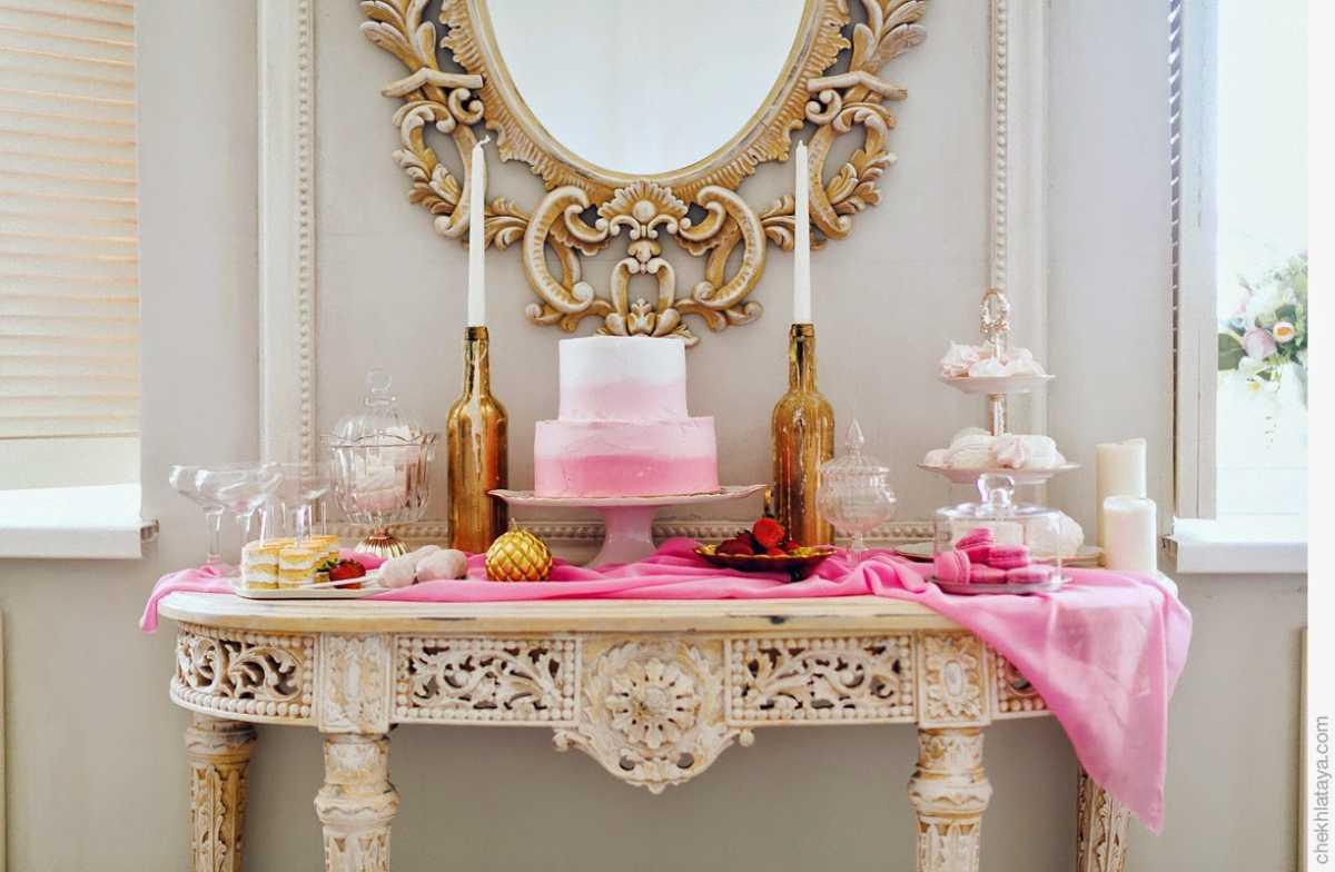 svadba-v-rozovom-tsvete-9 Розовое оформление свадебного зала, как не сделать торжество слишком девчачьем