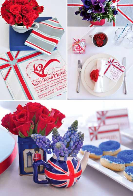 svadba-v-stile-Angliya-5 Идеи для вдохновения: создание свадьбы в английском стиле