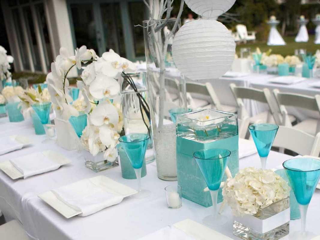 svadba-v-stile-tiffani-5 Свадьба в цвете тиффани: фото подборка наиболее удивительных идей по воплощению в жизнь торжества
