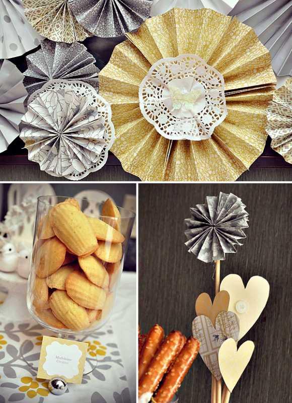 svadba-v-zhelto-serom-tsvete-9 Свадебный Кэнди Бар в желто-сером цвете сочетание яркости и строгости