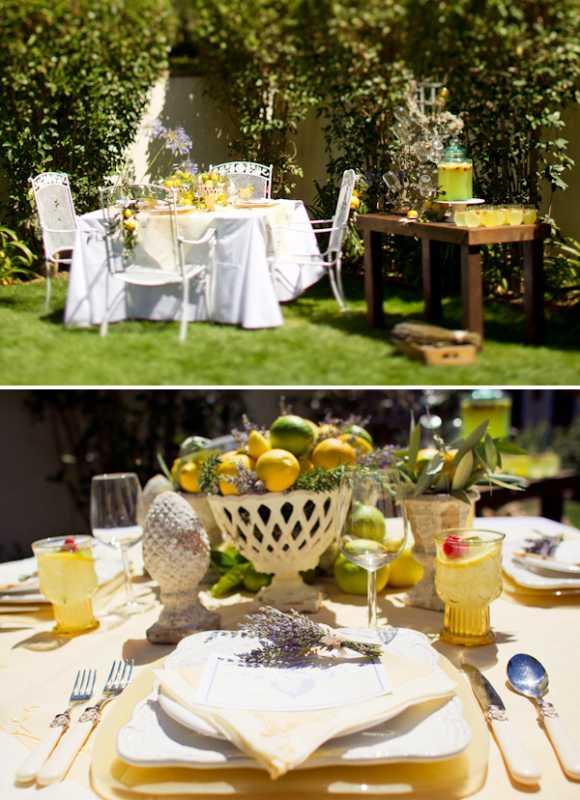 svadebnaya-servirovka-limon-i-lavanda-3 Сервировка свадебного стола в стиле сочного лимона и ароматной лаванды