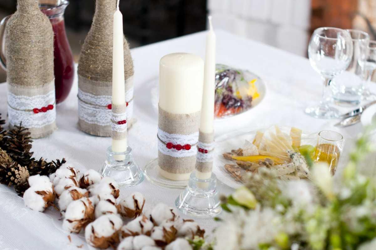 svadebnye-butylki-shampanskogo-6 Оформление свадебных бутылок шампанского: несколько идей по оформлению бутылок на свадьбе