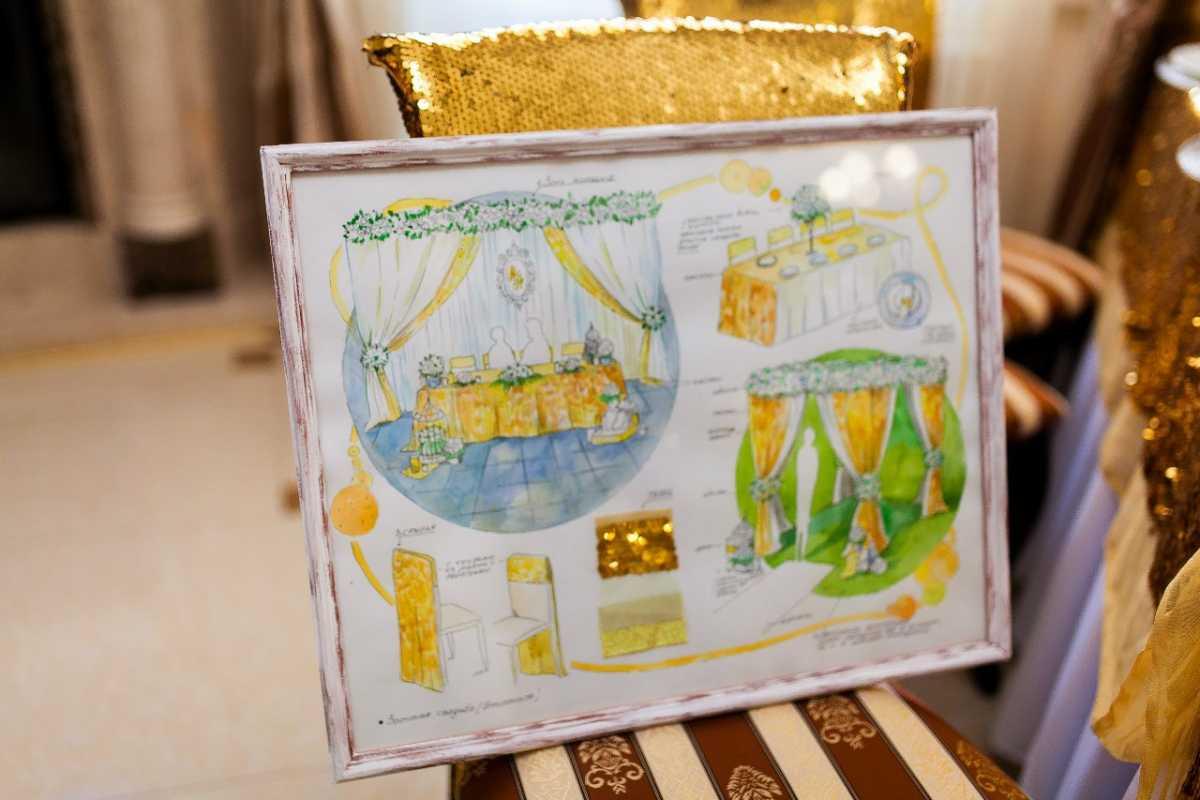 svadebnyj-eskiz-svadby-9 Нужен ли эскиз свадебного оформления при заказе оформления зала в дизайнерском агентстве