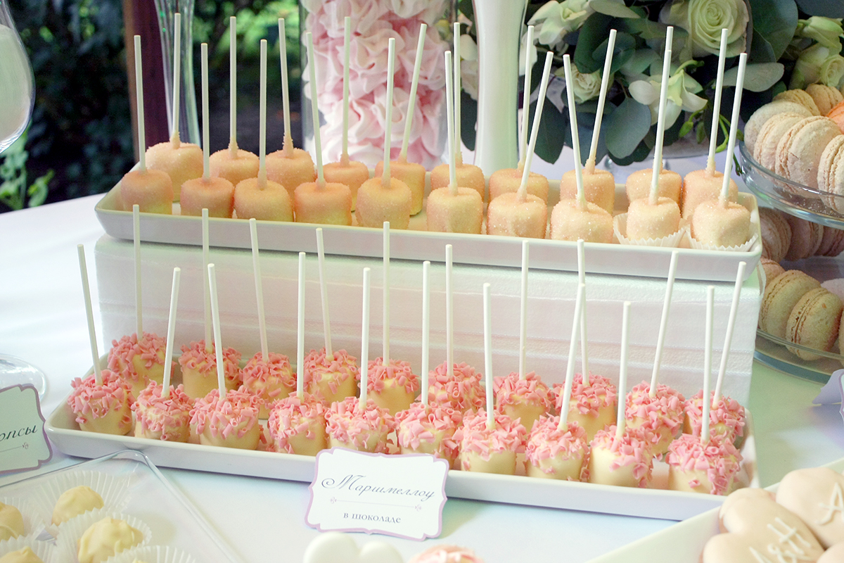 svadebnyj-persikovyj-Kendi-Bar-3 Свадьба в персиковом цвете, оформление Кэнди Бара для такого торжества