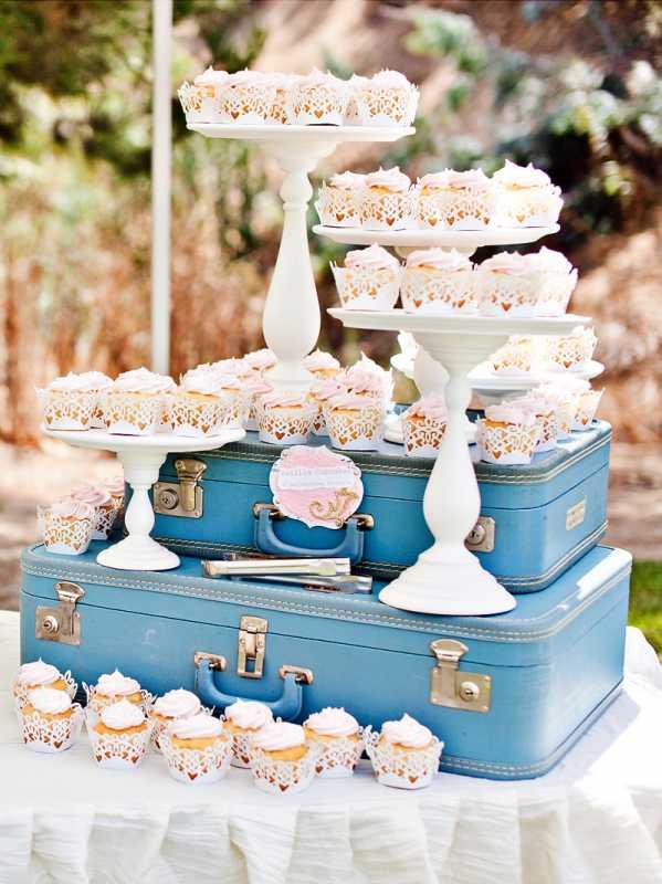 vintazhnyj-desertnyj-bar-7 Организуем винтажный Кэнди Бар на тематическом свадебном торжестве