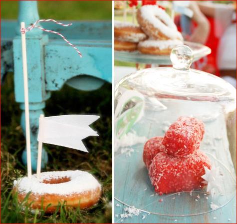 zimnij-svadebnyj-Kendi-Bar-letom-9 Свадьба летом: необычный зимний свадебный Кэнди Бар в самый разгар летнего торжества