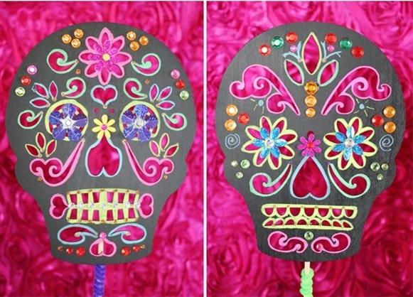 1-dekor-dlya-svadby-v-stile-dnya-mertvyh Делаем сами яркий и жуткий декор для свадьбы в стиле Дня Мертвых
