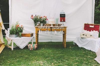 1-devichnik-rustik Рустиковый девичник в палатках, идея для проводения  на природе предсвадебной вечеринке невесты