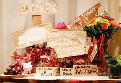 1-neobychnye-bary-na-svadbe Организуем на своей свадьбе необычные десертный стол с закусками и угощениями