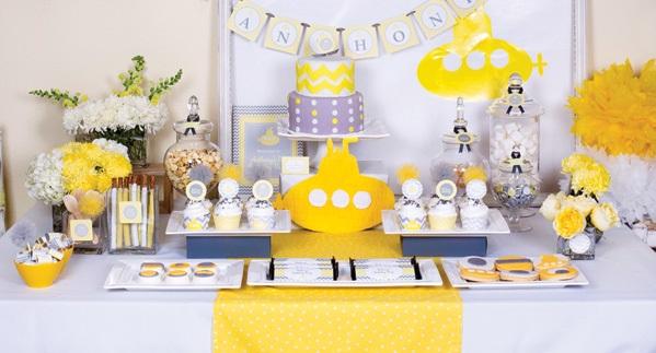 1-sero-limonnyj-kendi-bar Серо-желтый Кенди Бар для украшения осенней свадьбы